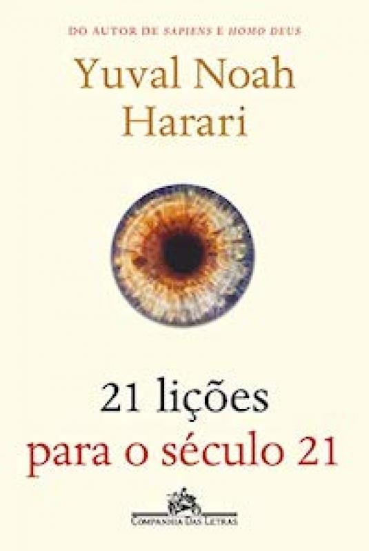 Capa de 21 lições para o século 21 - Yuval Noah Harari
