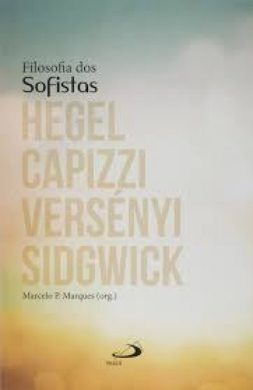 Capa de Filosofia dos Sofistas - Marcelo P. Marques org.