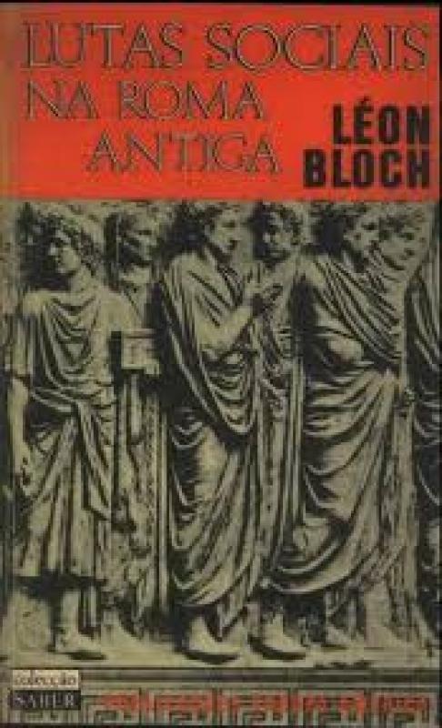Capa de Lutas Sociais na Roma Antiga - Léon Bloch