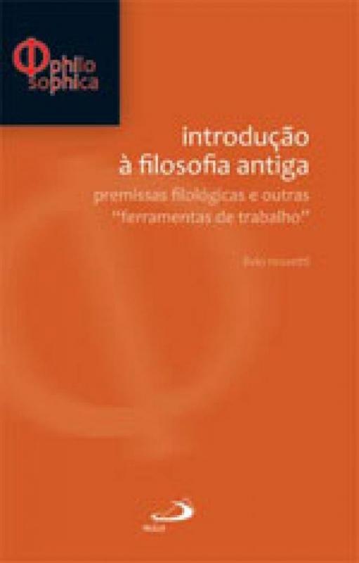 Capa de Introdução à filosofia antiga - Livio Rossetti
