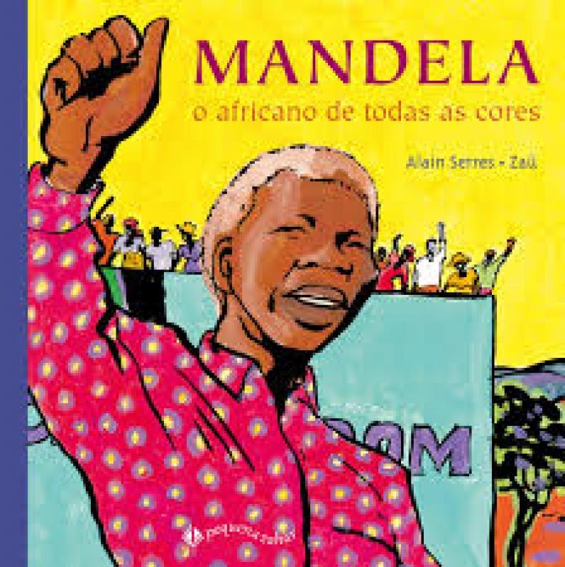 Capa de Mandela - Alain Serres