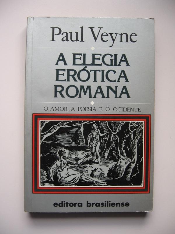 Capa de Elegia Erótica Romana - Paul Veyne