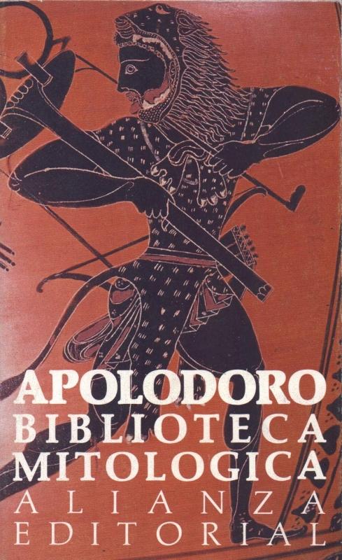 Capa de Biblioteca Mitologica - Apolodoro