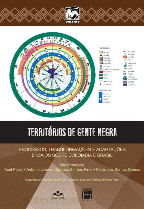Capa de Territórios de gente negra - Antônio Liberac Cardoso Simões Pires; Flávio dos Santos Gomes; Axel Rojas