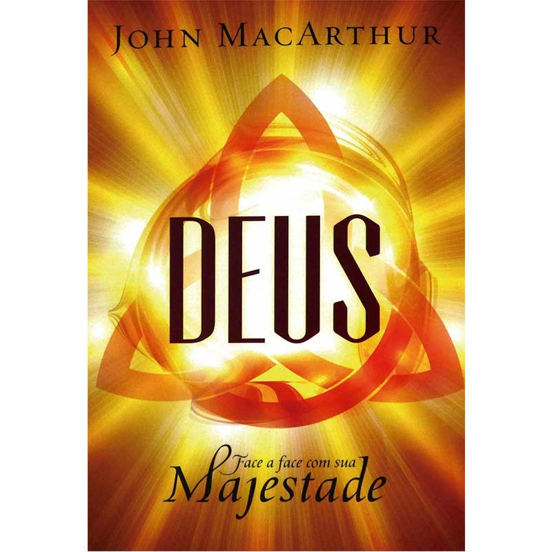 Capa de Deus face a face com sua majestade - John MacArthur