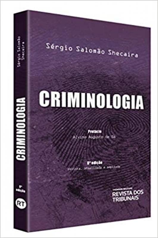 Capa de Criminologia - Sérgio Salomão Schecaira