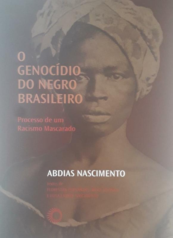 Capa de O genocídio do negro brasileiro - Abdias Nascimento