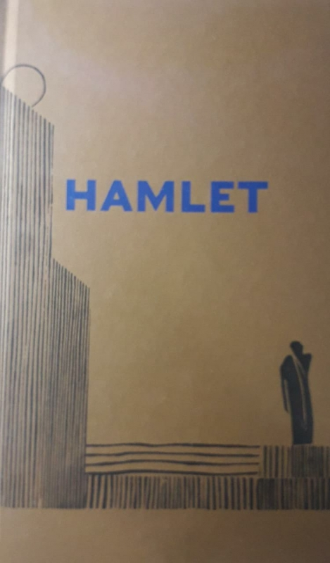 Capa de A tratégia de Hamlet, príncipe da Dinamarca - William Shakespeare