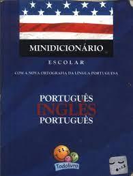 Capa de Minidicionário escolar português-inglês-português - Alfredo Scottini