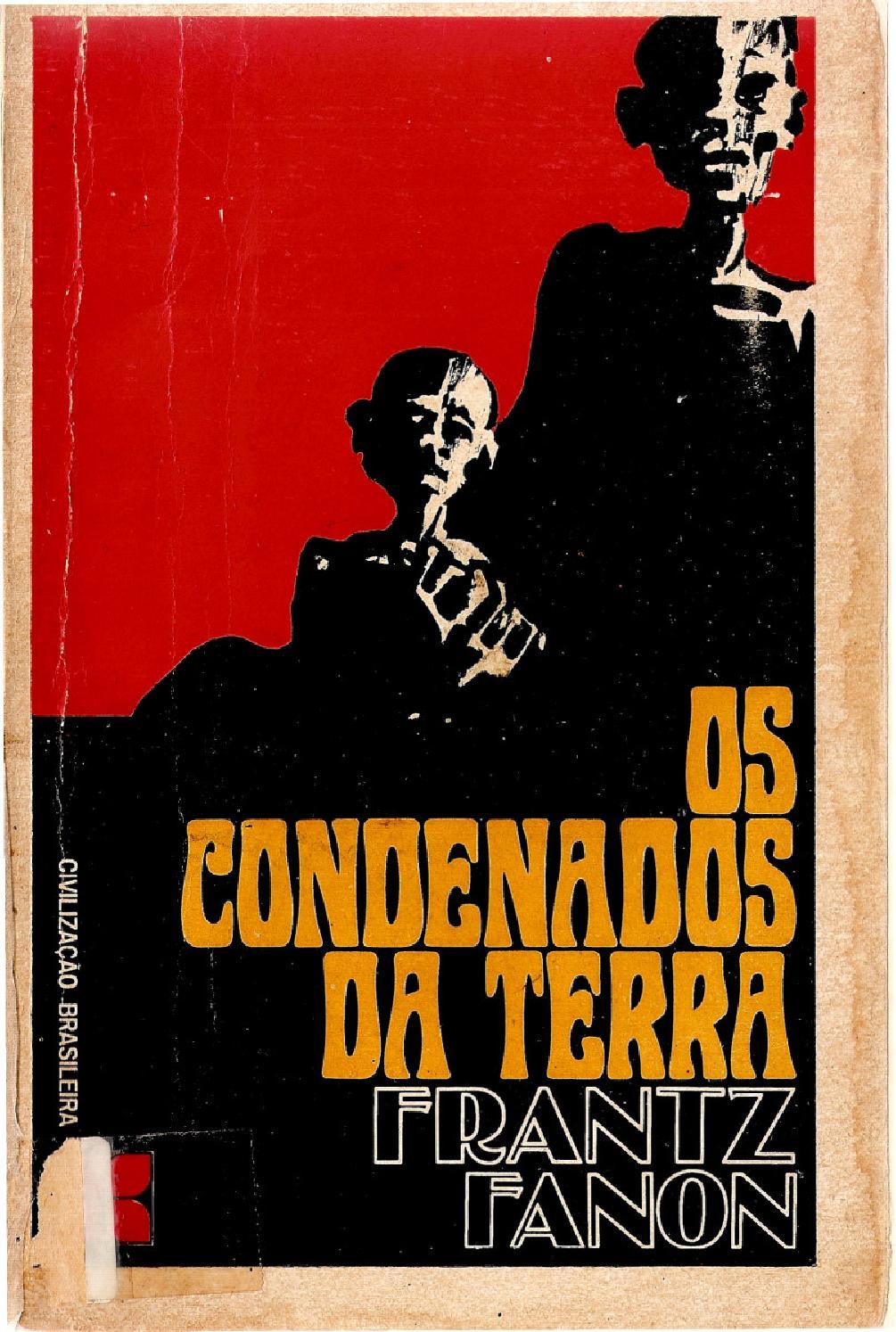 Capa de Os Condenados da Terra - Frantz Fanon
