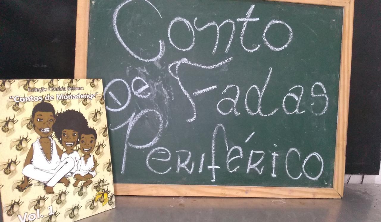 Capa de Contos de Monadenge - Israel Neto e Jader Oliveira