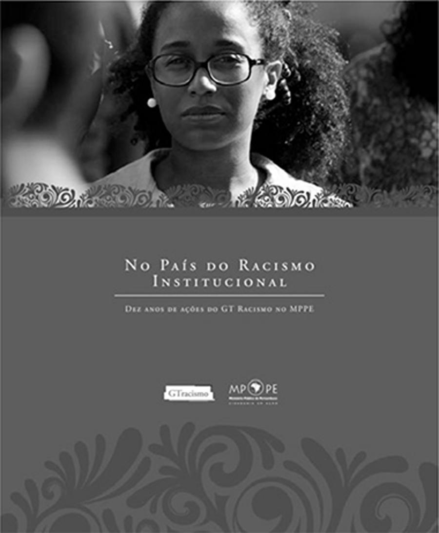 Capa de No país do racismo institucional - Fabiana Moraes