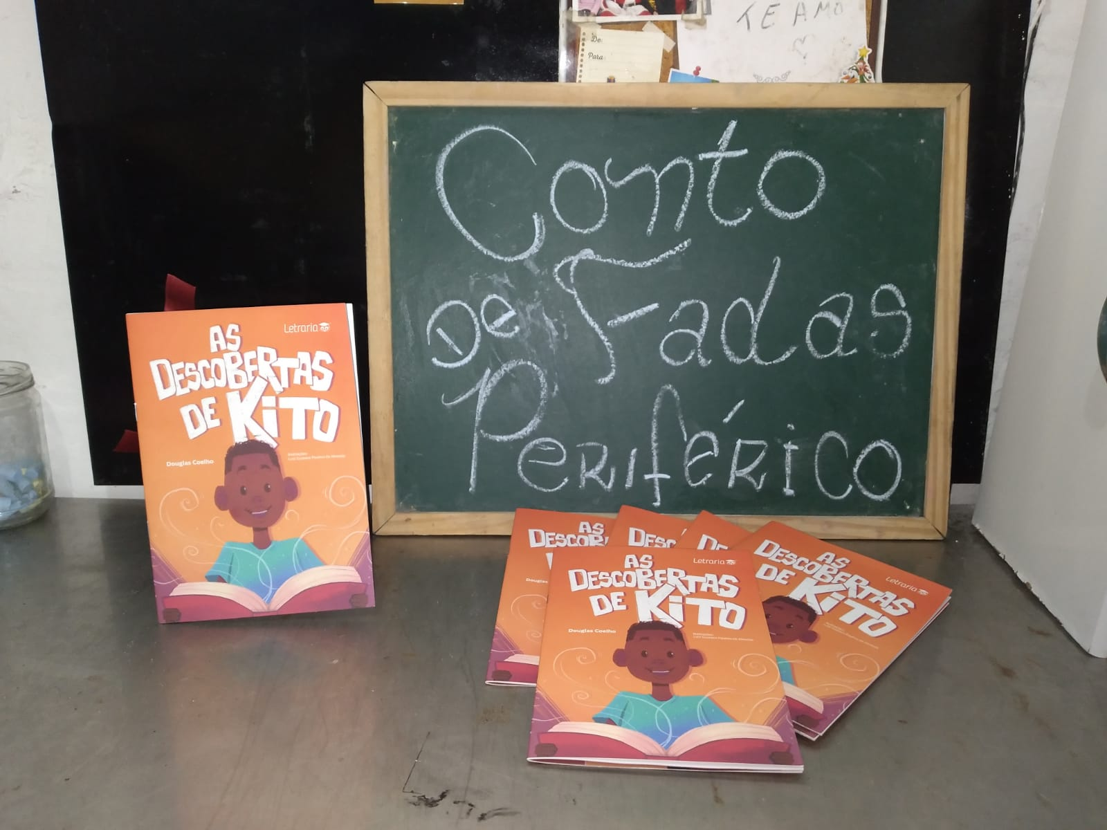 Capa de As descobertas de Kito - Douglas Coelho