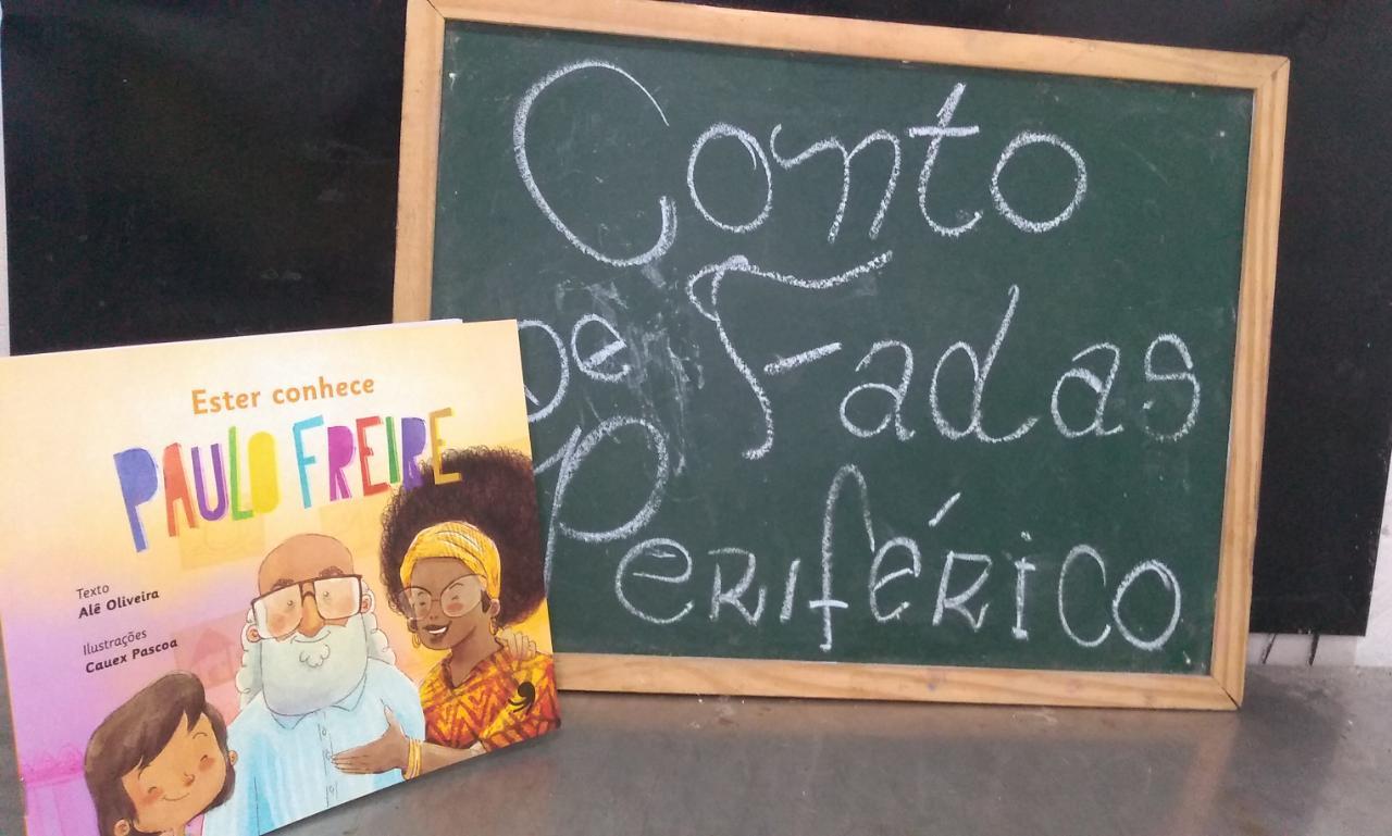 Capa de Ester conhece Paulo Freire - Alê Oliveira
