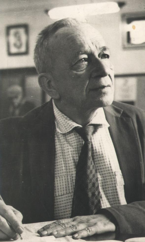 Foto de Mário Quintana