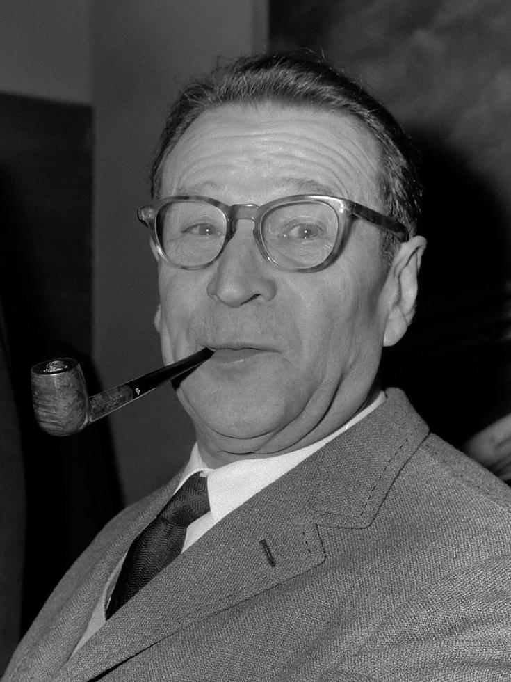 Foto de Georges Simenon