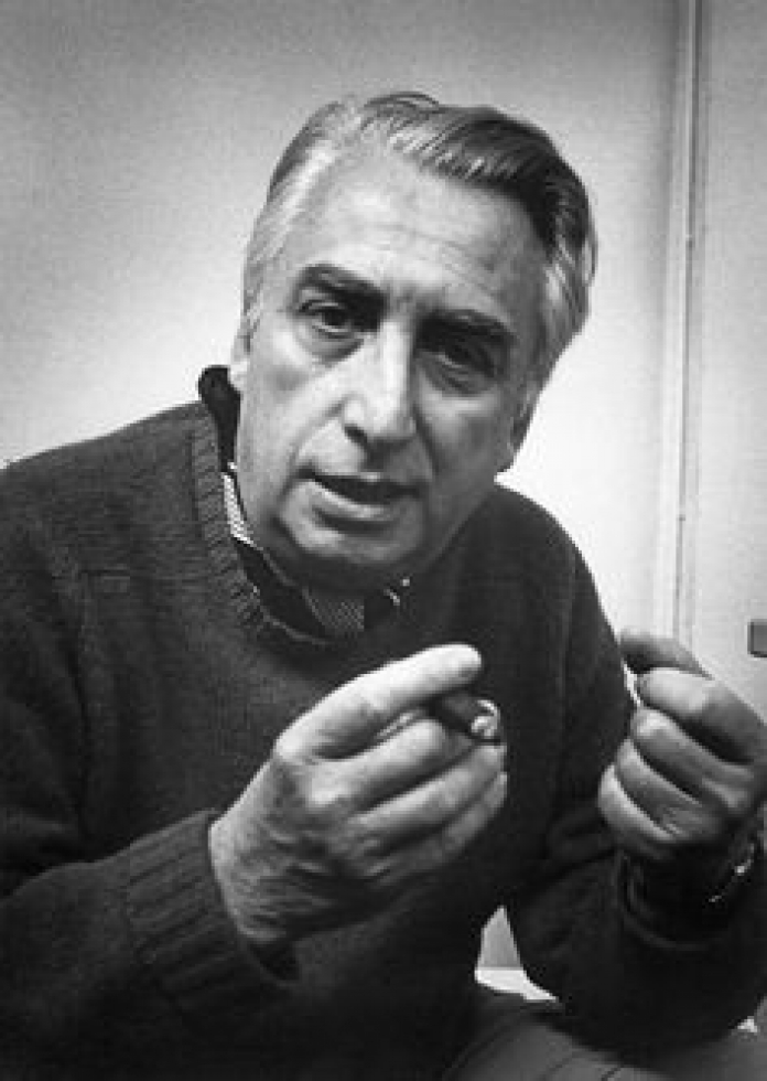 Foto de Roland Barthes