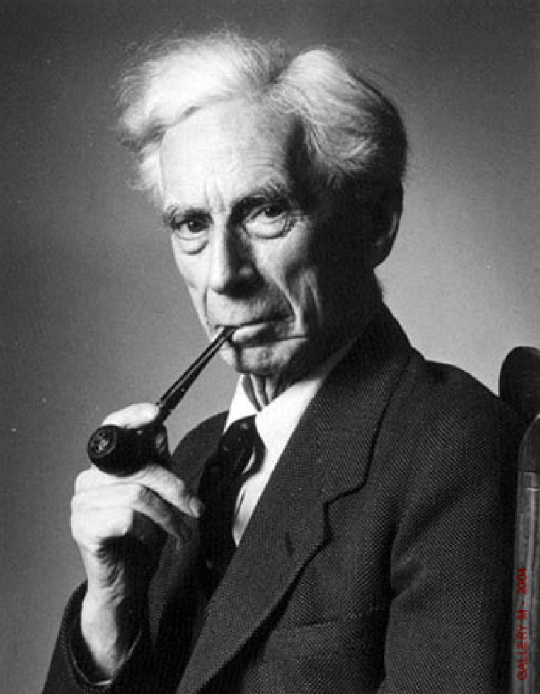 Foto de Bertrand Russell